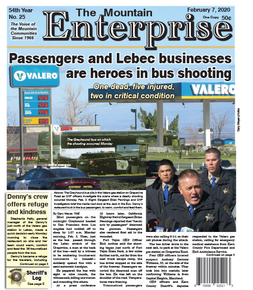 The Mountain Enterprise February 7, 2020 Edition