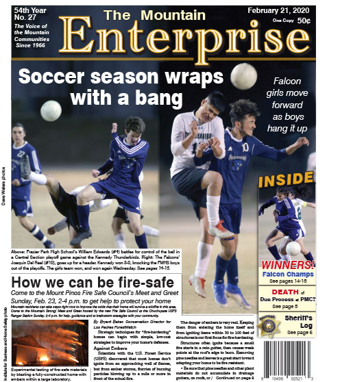 The Mountain Enterprise February 21, 2020 Edition
