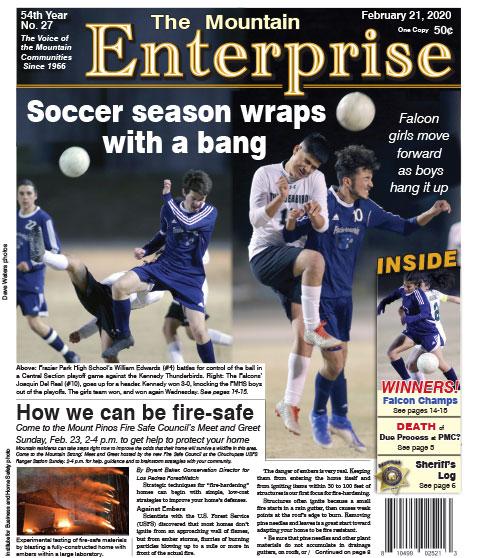 The Mountain Enterprise February 21, 2020 Edition