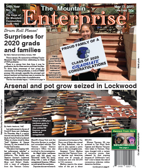 The Mountain Enterprise May 15, 2020 Edition