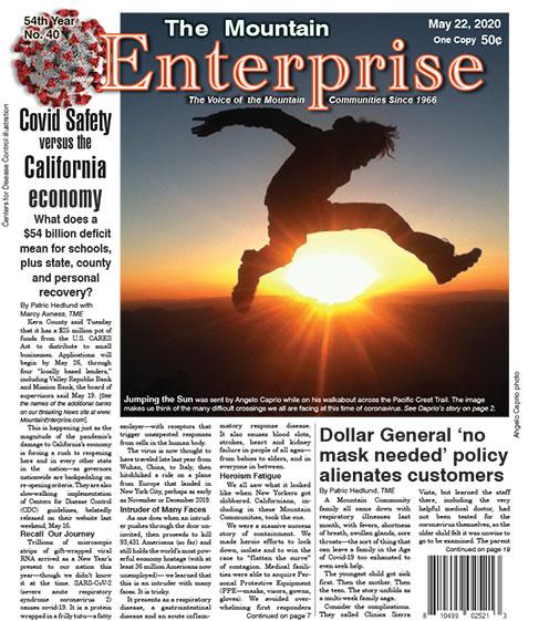 The Mountain Enterprise May 22, 2020 Edition