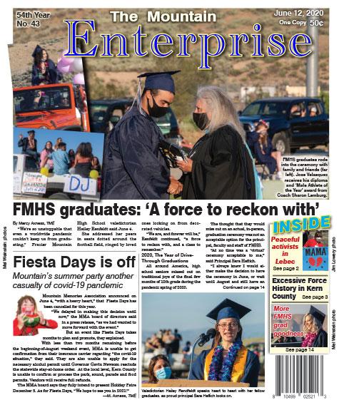 The Mountain Enterprise June 12, 2020 Edition