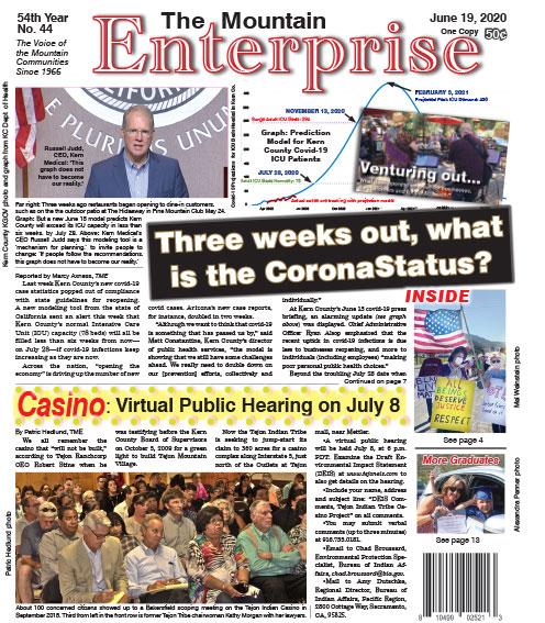 The Mountain Enterprise June 19, 2020 Edition