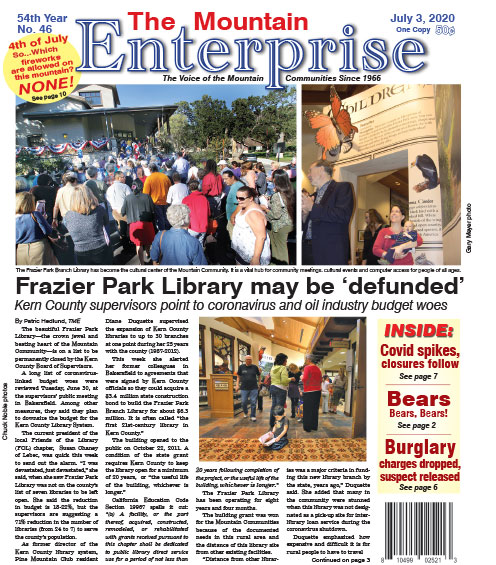 The Mountain Enterprise July 3, 2020 Edition