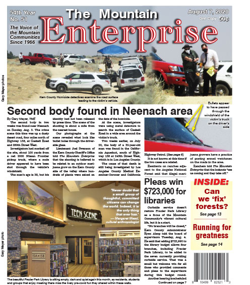 The Mountain Enterprise August 7, 2020 Edition