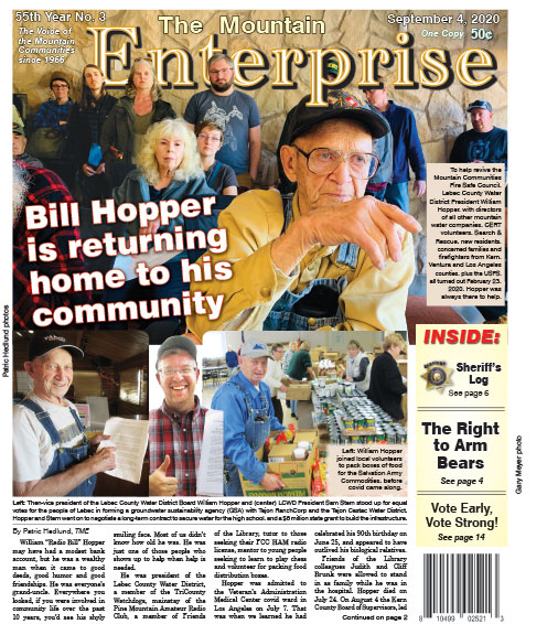 The Mountain Enterprise September 4, 2020 Edition