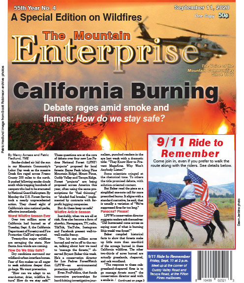 The Mountain Enterprise September 11, 2020 Edition