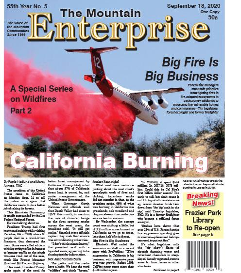 The Mountain Enterprise September 18, 2020 Edition