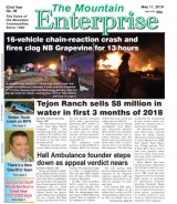 The Mountain Enterprise May 11, 2018 Edition