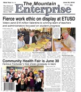 The Mountain Enterprise June 22, 2018 Edition
