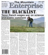 The Mountain Enterprise July 6, 2018 Edition