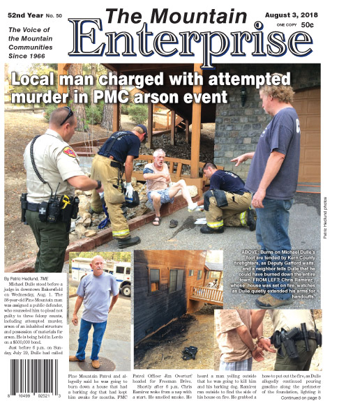The Mountain Enterprise August 3, 2018 Edition