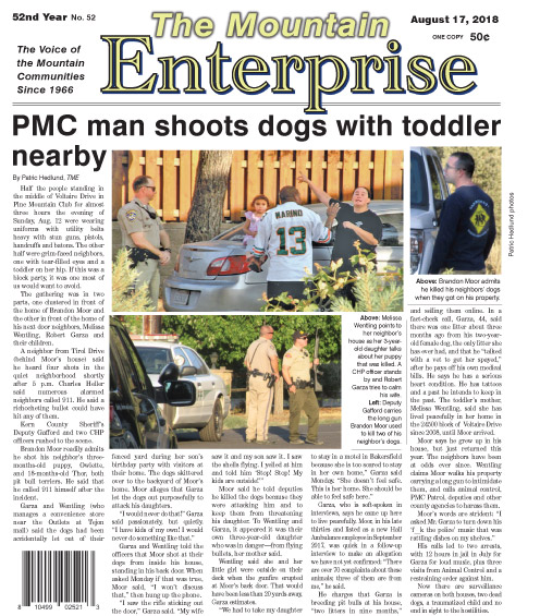 The Mountain Enterprise August 17, 2018 Edition