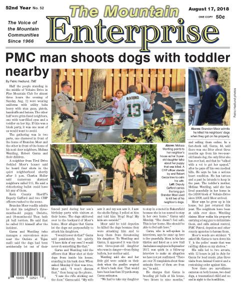 The Mountain Enterprise August 17, 2018 Edition