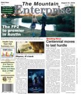 The Mountain Enterprise August 31, 2018 Edition