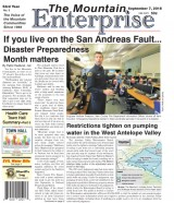 The Mountain Enterprise September 7, 2018 Edition