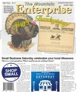 The Mountain Enterprise November 23, 2018 Edition