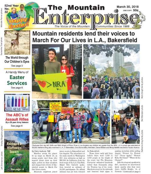 The Mountain Enterprise March 30, 2018 Edition