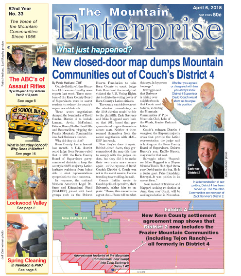 The Mountain Enterprise April 6, 2018 Edition