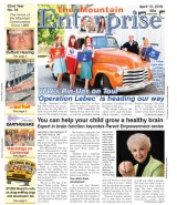 The Mountain Enterprise April 13, 2018 Edition