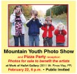 Mountain Youth Photo Show and Pizza Party reception