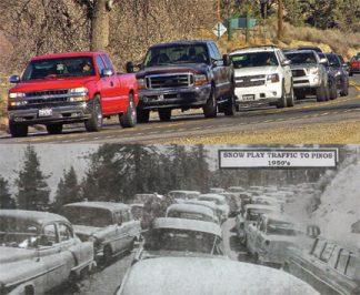 [Ridge Route Museum and Mountain Enterprise staff photos]