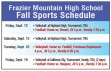 FMHS Sports Schedule