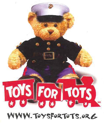 Nyc Toys For Tots Marines : Teddybear marines cmyk the mountain enterprise