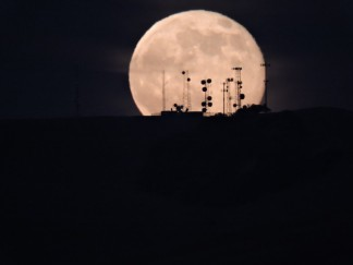 The Supermoon of July was taken by Michael Hightower of Lebec. He was prepared when it rose, with the communications towers on a Tejon Ranch ridge in the foreground. On Sunday, Aug. 10 the supermoon will rise at 11:10 a.m. We are unsure if it will be possible to make a great daytime photo of it, but give it a try.
